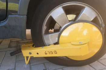 wheel clamping perth